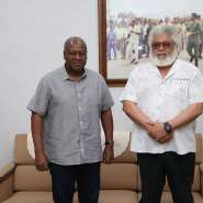 Election 2020: Mahama, Rawlings Meet Over Running Mate, Other Issues