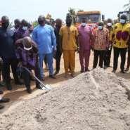 Akufo-Addo Cut Sod For Redevelopment Of La General Hospital