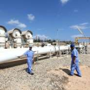 Oil is a vital source of income for Libya.  By MAHMUD TURKIA (AFP/File)