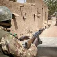The Malian army has struggled to contain the violence involving jihadists and also inter-communal clashes.  By MICHELE CATTANI (AFP)