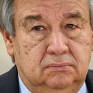 UN Secretary-General Antonio Guterres.  By Fabrice COFFRINI (AFP/File)