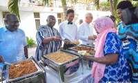 Mahamudu Bawumia Fetes Lepers, Street Children on New Year's Day