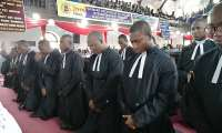 The new Methodist priests before their ordination