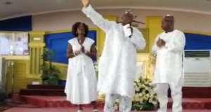 Ofosu Ampofo was at the Royal House Chapel International Sunday