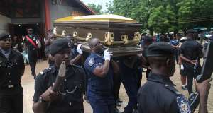 Murdered Police Woman Buried