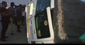 Tipper Truck Kills Driver, Mate At Gomoa Budumburam