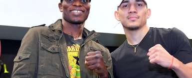 I Will Do The Talking In The Ring, Says Richard Commey