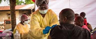 Ebola vaccination trial in Congo