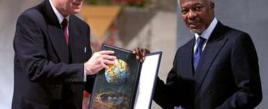 Africa has done well in the Peace category but not in the other more difficult categories