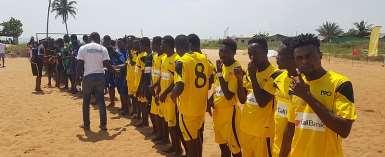 CAL BANK Beach Soccer Super Cup Rocks Takoradi