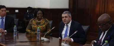 UNWTO Secretary-General Calls On Speaker Of Parliament