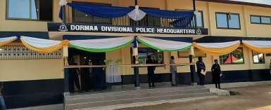 Dormaa Paramount Chief Builds Police Station