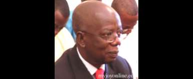 Mr Kwadwo Mpiani, former Chief of Staff