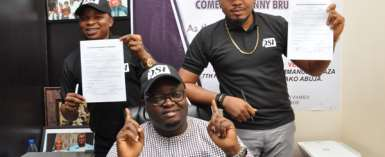 Ace artistes Smith Nnebe, Funny Bruno sign management deal with Don Singles International