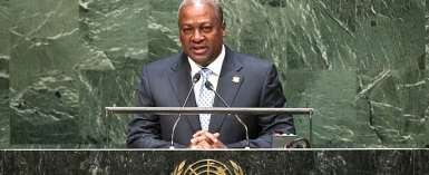 Flashback 2015: president Mahama addresses the UN on Ebola