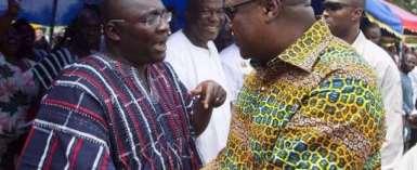 Former Prez John Mahama & Vice Prez Dr. Bawumia