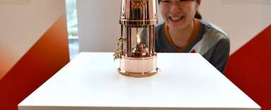 Olympic Flame For Postponed Tokyo 2020 Goes On Display In Fukushima