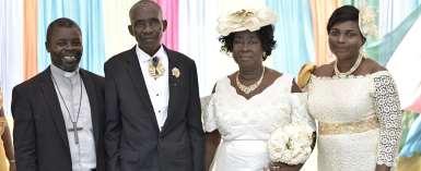 Mr. Blankson Dumehasi and Madam Margaret Tetteh
