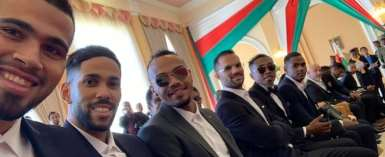 Madagascar President Awards AFCON Squad With National Honour