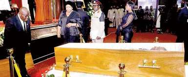 Burma Camp: JH Mensah Laid To Rest
