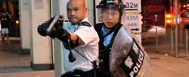 China issues stern warning to Hong Kong protesters