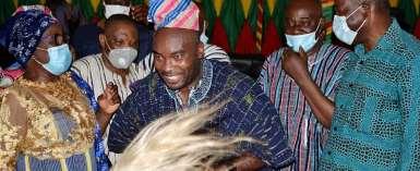 Nayiri Honours Augustine Blay As