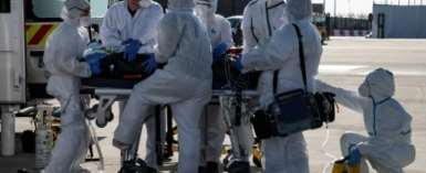 Europe has suffered the worst of the coronavirus pandemic, with more than 45,000 deaths so far.  By BERTRAND GUAY (AFP)