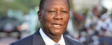 Heading for a third term? Ivorian President Alassane Ouattara.  By Ludovic MARIN (AFP/File)