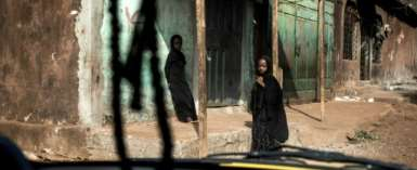 Poverty and resentment towards the government run deep in Wanindara, a bastion of opposition to Sunday's referendum.  By JOHN WESSELS (AFP)