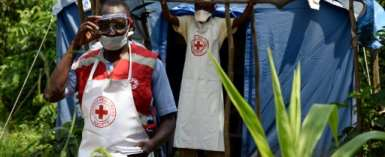 The Red Cross says the biggest challenge is ensuring robust monitoring along the porous border with DRC.  By ISAAC KASAMANI (AFP)