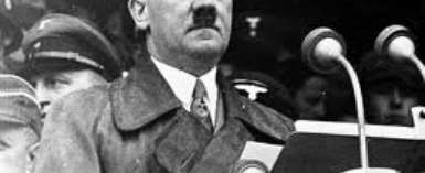 Worshipping The Wrong Hero Herr Hitler Of Germany
