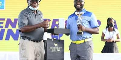 Eric Ofosuhene and Leticia Amponsah Mensah win 2021 MTN Final Golf tournament