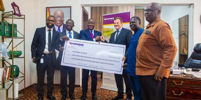 Newmont pays Ghc110m dividend to government