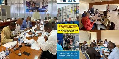 ISMI train reps of ECOWAS, ECCAS on containers targeting and control