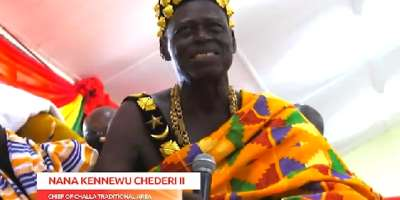Your God-fearing attitude, refusal to tenaciously cling to power in 2020 saved Ghana from higgledy-piggledy — Chief eulogises Mahama