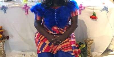 Dorcas Margaret Madjitey, survivor of spina bifida and hydrocephalus
