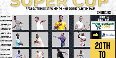 Tennis Super Cup Tournament begins today
