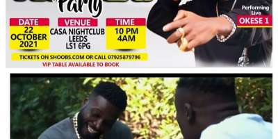 Danny Lampo to perform at the biggest afrobeat party in UK with Okese1