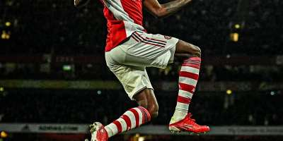 Thomas Partey becomes first Ghanaian player to score for Arsenal