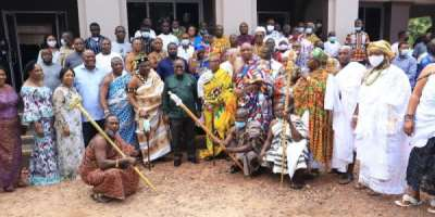 Akufo-Addo ends Greater Accra tour