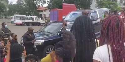 Legon girls mob Nigerian actor Jim Iyke