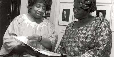 Author:Doris Green and Wangari Maathai, the first African recipient of the NOBEL PEACE PRIZE in 2004