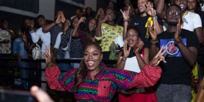 Accelerate Movie Night: Here's All That Went Down At The Accelerate Screening Of Sugar Rush Movie