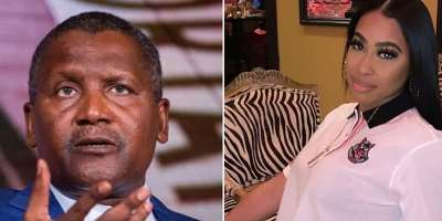 Businessman Aliko Dangote drags former girlfriend to court