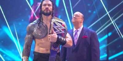 WWE Royal Rumble 2021: Roman Reigns retains title against Kevin Owens