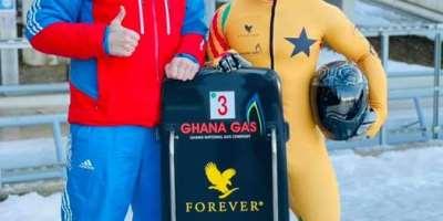 Akwasi Frimpong finishes season strong in Innsbruck, Austria