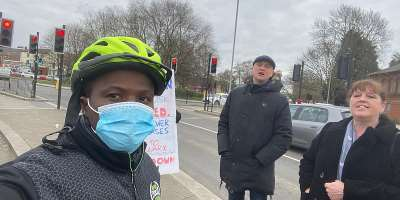ModernGhana Journalist Attractive Mustapha interviews anti-lockdown advocates in UK