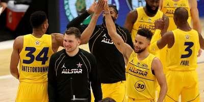 NBA All-Star Game: Giannis Antetokounmpo MVP as Team LeBron beat Team Durant 170-150