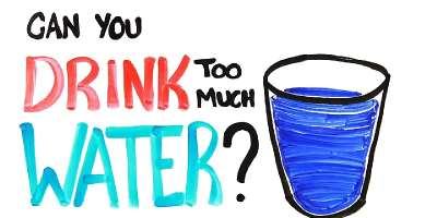 Interesting! Drinking Too Much Water Can Kill You!