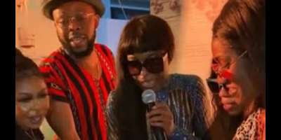 Afia Schwarzenegger, Kalybos, Moesha, Wendy Shay make surprise appearance at Efya Nocturnal's private birthday party